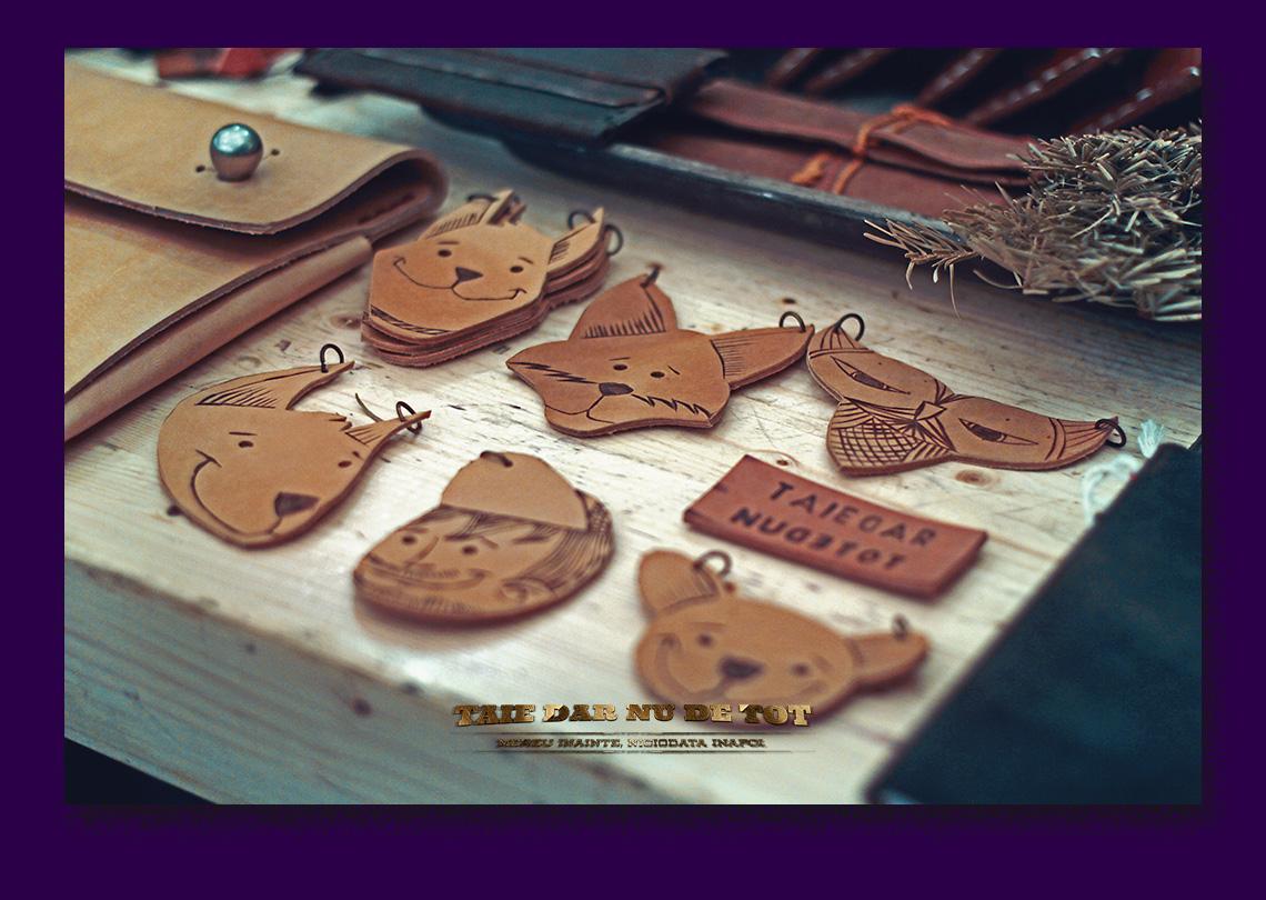 Taiedarnudetot - produse facute de mana handmade din piele si materiale sustenabile