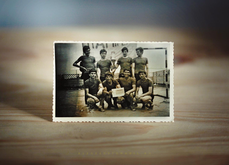 echipa de atletism lot de cros anii 70
