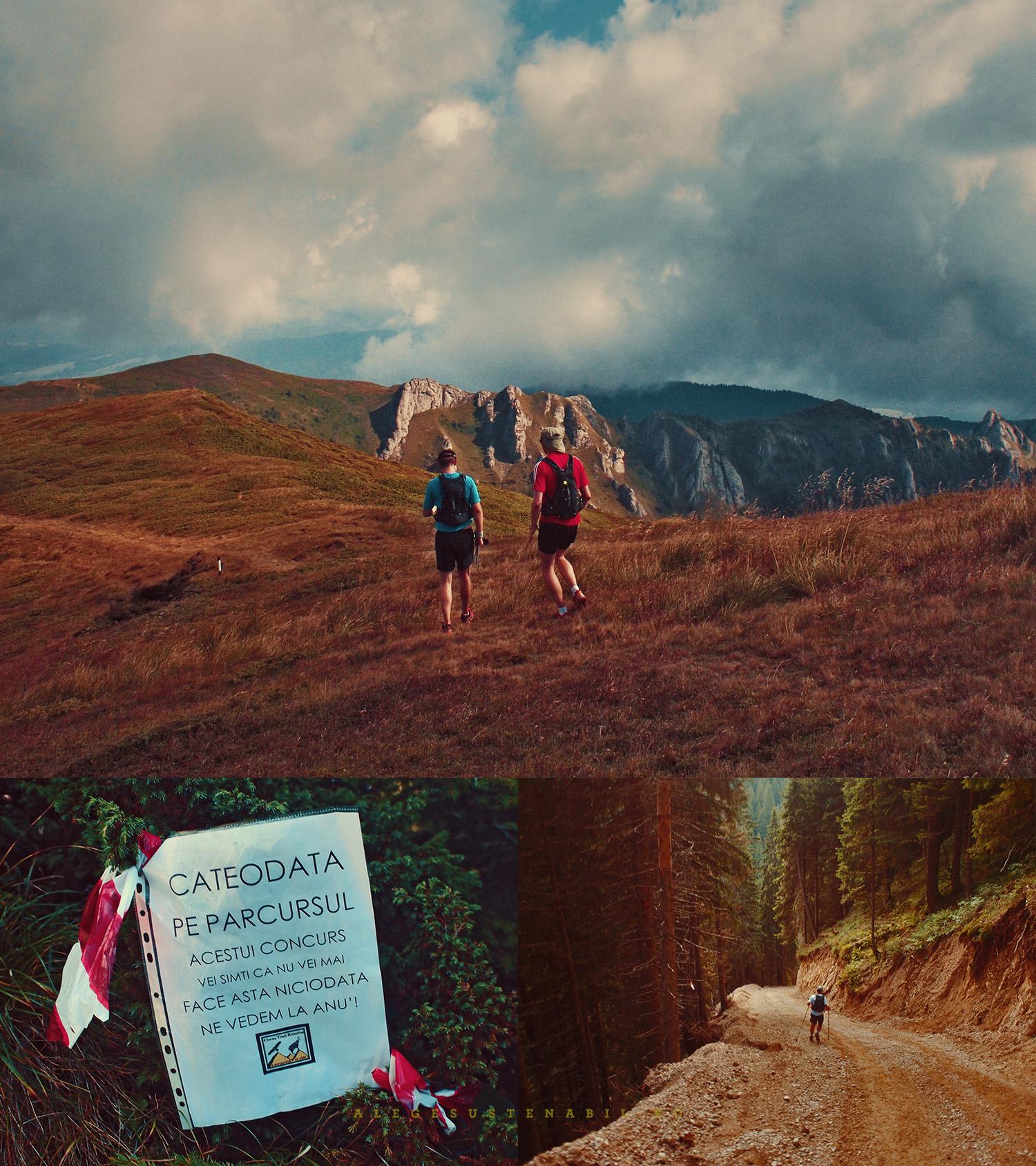 maratonulul montan ciucas - alergare montana in romania