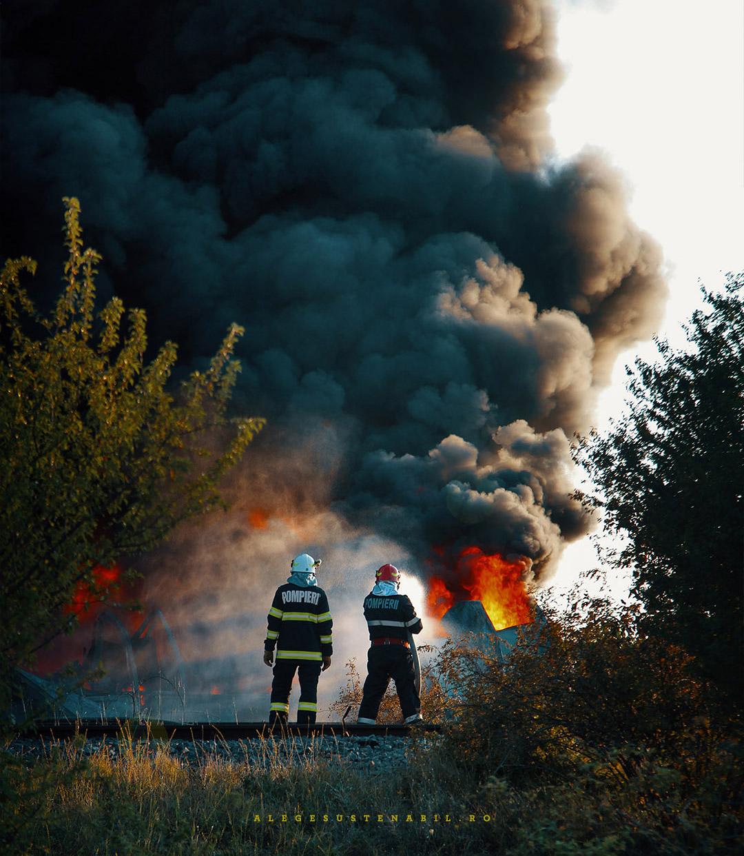 Pompierii ISU din Romania