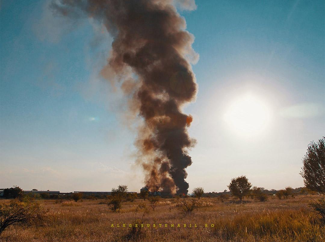 Incendiu Fabrica Atifco Bragadiru 30 Iulie 2020