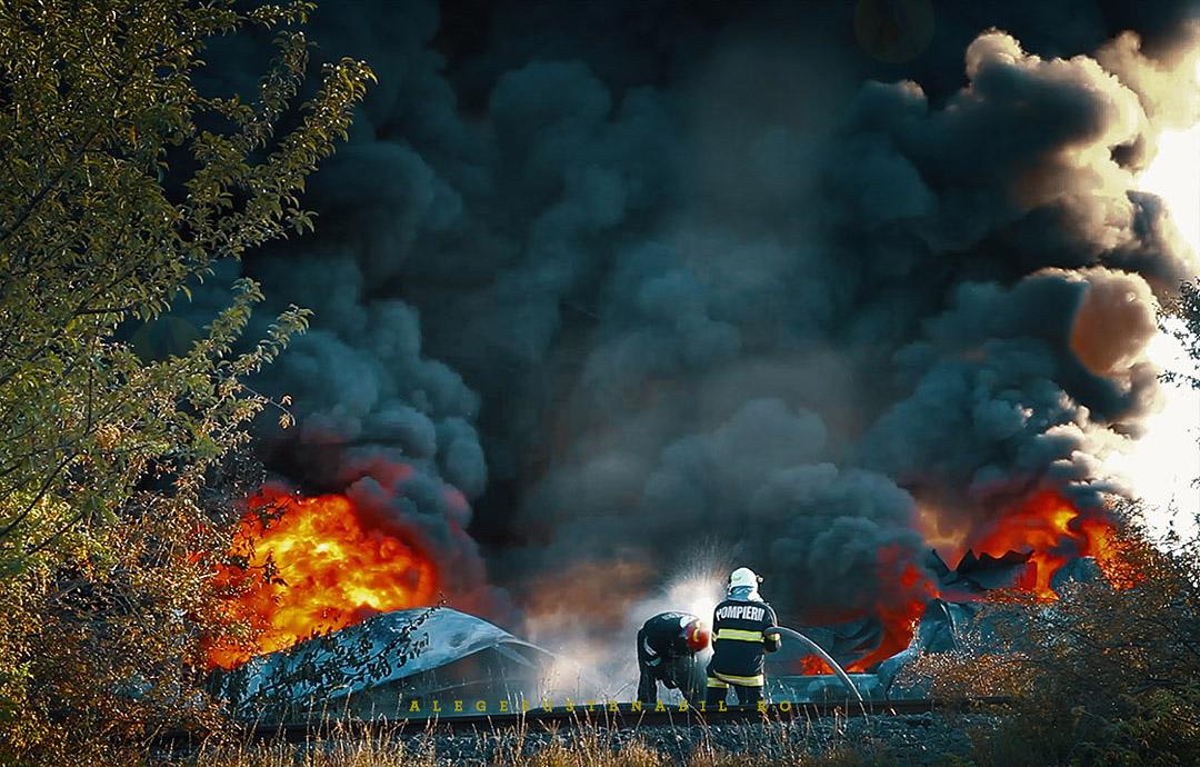 Pompierii se racoresc dupa interventia grea de la Fabrica de orez Atifco din Bragadiru