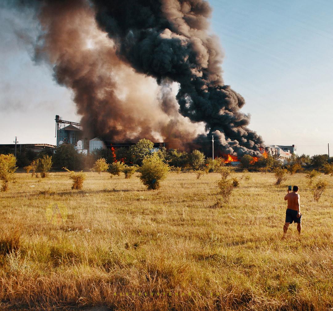 Incendiu Fabrica Atifco Bragadiru